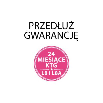 Dodatkowe 12 miesięcy gwarancji do KTG L8/L8A