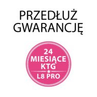 Dodatkowe 24 miesiące gwarancji do KTG L8pro / L8M / L8ME