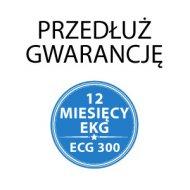 Dodatkowe 12 miesięcy gwarancji do EKG ECG300GT/VET
