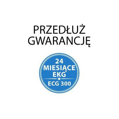 Dodatkowe 24 miesiące gwarancji do EKG ECG300GT/VET