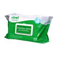 Chusteczki do dezynfekcji Clinell KTG/EKG 200 szt.