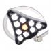 Test lamp medycznych i zabiegowych LED