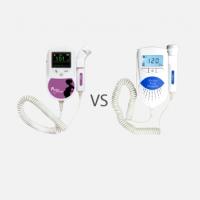 Porównanie detektorów tętna płodu Sonoline B i C